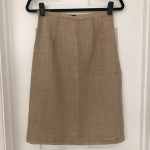 Banana Republic Tan Skirt- Size 4